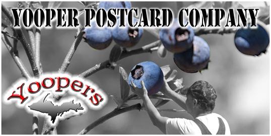 Yooper Postcards logo